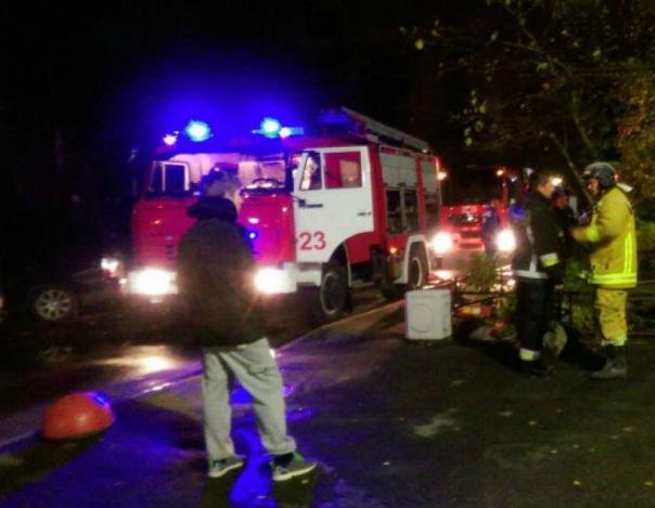 В пожаре на Искровском проспекте погибла пожилая пара