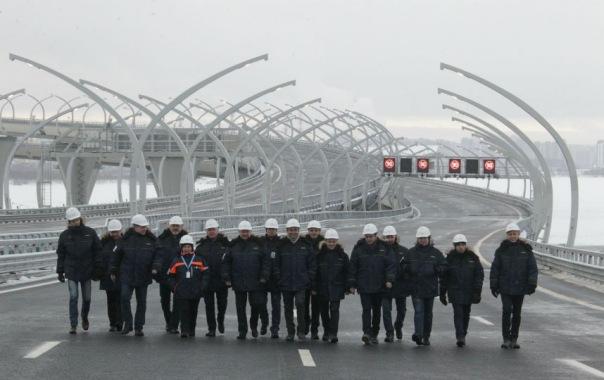 Открытие ЗСД: Перед приездом Путина произошло возгорание в тоннеле