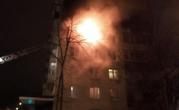 На Васильевском острове Петербурга ликвидировано возгорание
