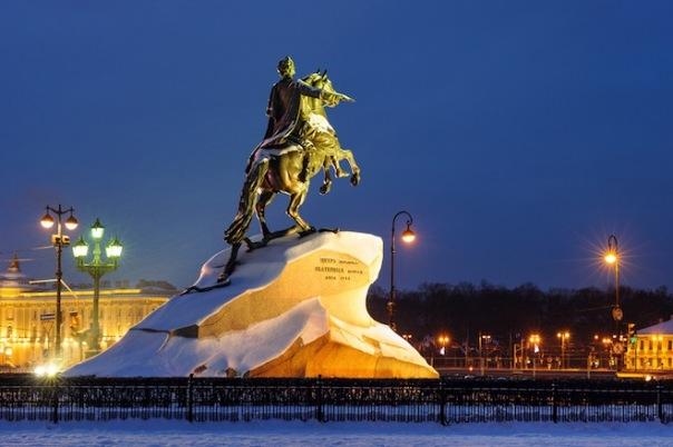 В понедельник в Петербурге похолодает до минус четырёх градусов