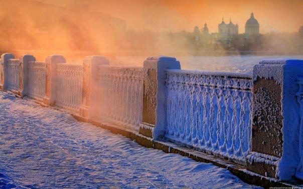 МЧС: В Петербурге ожидается сильный ветер и 20-градусный мороз