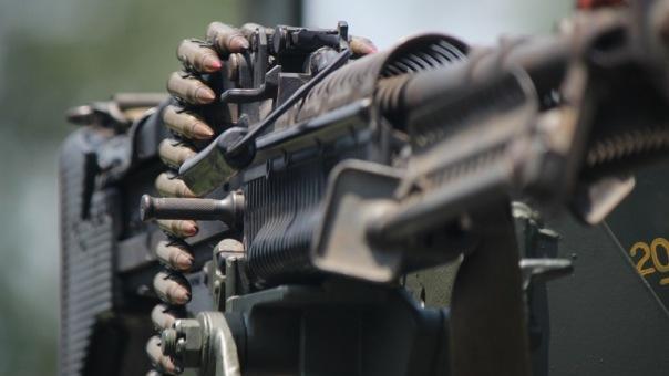 В центре Петербурга задержали мужчину с пулеметом