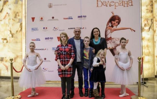 В Мариинском театре состоялась премьера мультфильма Балерина Елена Бережная с детьми