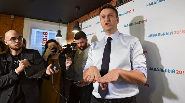 Навальный открыл штаб в Санкт-Петербурге