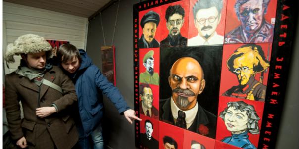 Ленина сделали мультгероем художники Петербурга