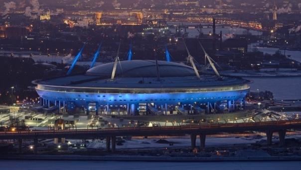 Первыми посетителями Зенит-Арены в Петербурге стали 10 тысяч человек