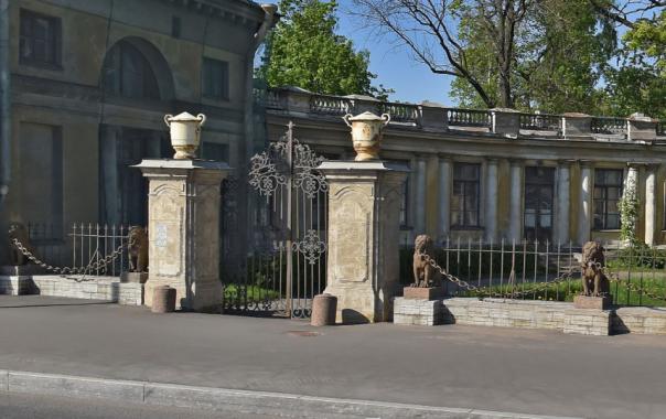 Петербуржцы обеспокоены, что исчезают львы с ограды в Петербурге