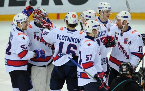 Петербургский СКА обыграл Динамо и вышел вперёд в четвертьфинальной серии