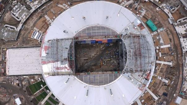 Зенит вернется на старый стадион после Кубка конфедераций