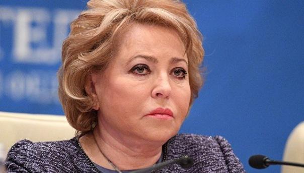 Матвиенко назвала смерть Тюльпанова большой потерей для страны