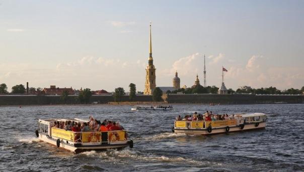 С 14 апреля на реках и каналах Петербурга начнется навигация