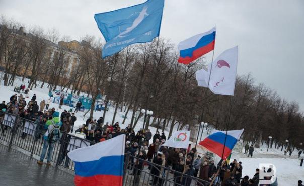 В центре Петербурга задержали около 30 участников Свободного шествия