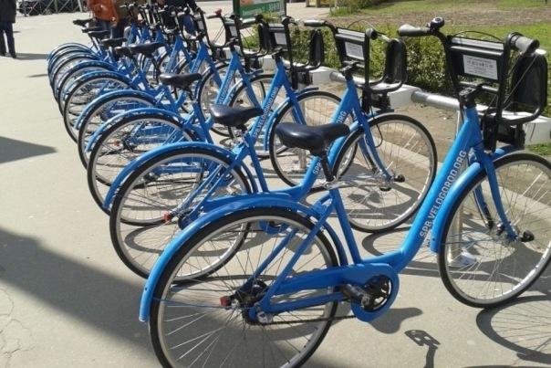 Велопрокат в Петербурге заработает с 20 апреля