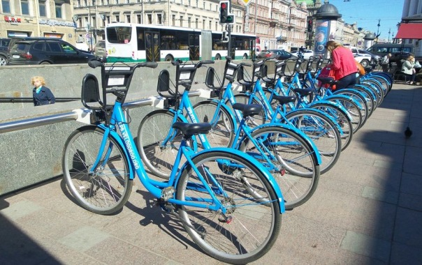 Любители велоспорта смогут заработать себе на одежду в Петербурге
