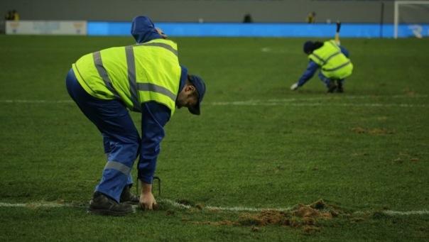 Вице-губернатор Петербурга рассказал, во сколько обойдется новый газон на стадионе на Крестовском