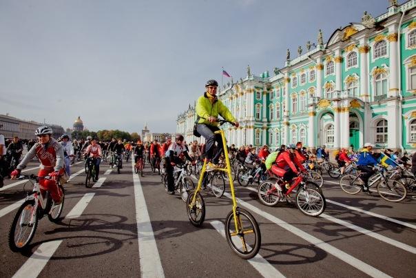 Большой велопарад пройдёт в Петербурге 28 мая