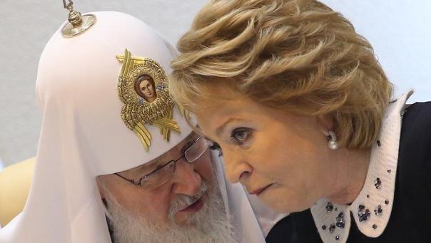 Георгий Полтавченко объяснил, почему почетными жителями Петербурга стали патриарх Кирилл и Валентина Матвиенко