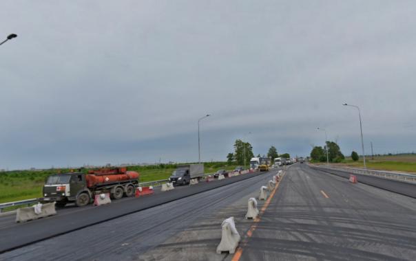 Участок Московского шоссе в Петербурге отремонтируют: движение ограничат