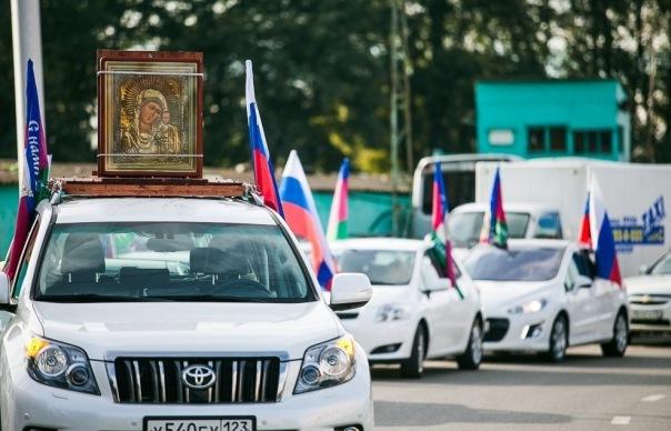 В Петербурге в среду пройдет первый автомобильный крестный ход, ожидаются пробки