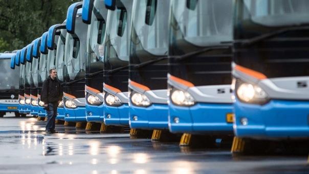 В Петербурге болельщиков на Кубок конфедераций отвезут 150 автобусов